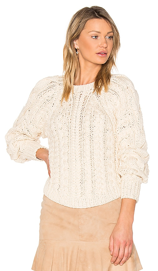 Ulla Johnson Niva Pullover in Beige