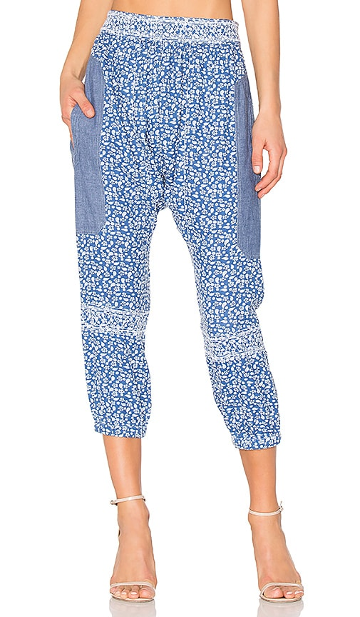 Ulla Johnson Suki Pant in Blue