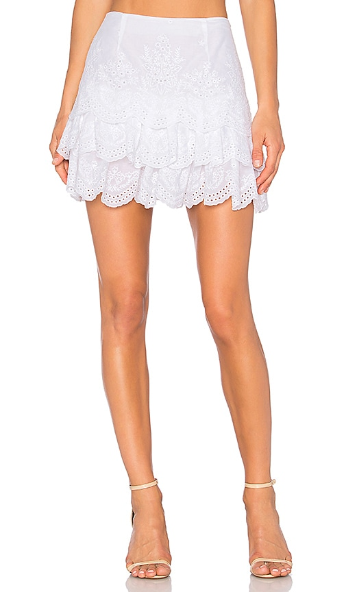 Ulla Johnson Daria Skirt in White