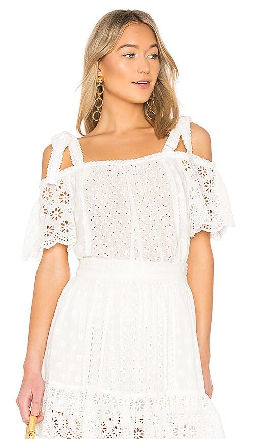 Ulla Johnson Blythe Top in White