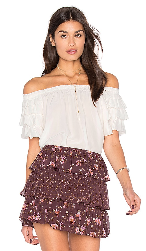 Ulla Johnson Leoda Top in White