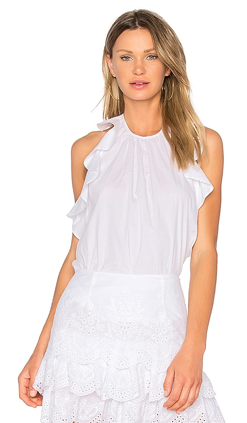 Ulla Johnson Mariana Blouse in White