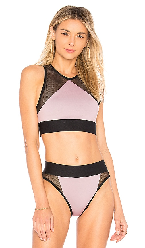 ultracor Adrift Bikini Top in Pink