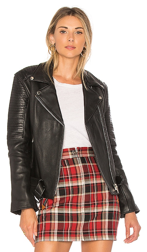 Understated Leather Sweet Paradise Jacket in Black
