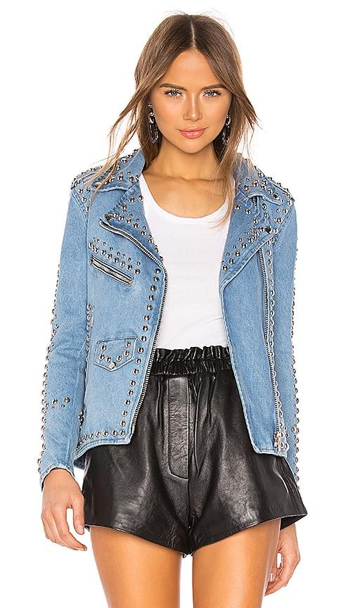 Studded Western Moto Jacket