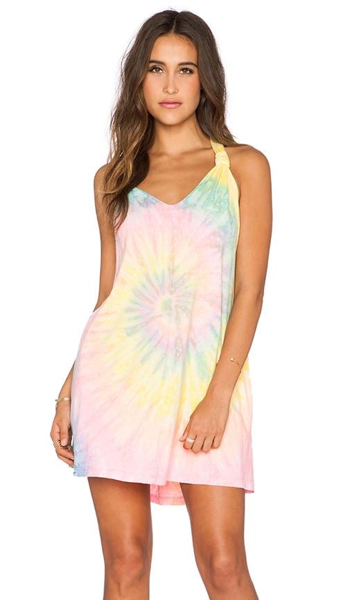 UNIF Rae Dress in Tie Dye