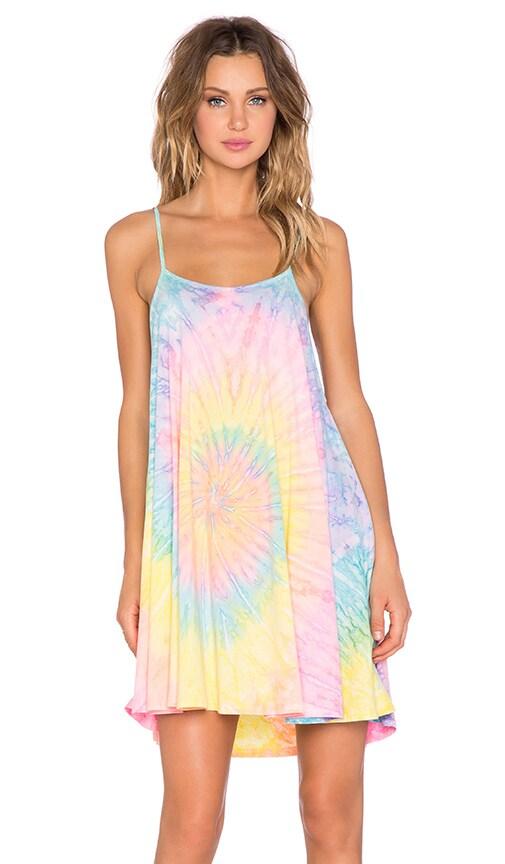 UNIF Psych Dress in Tie Dye