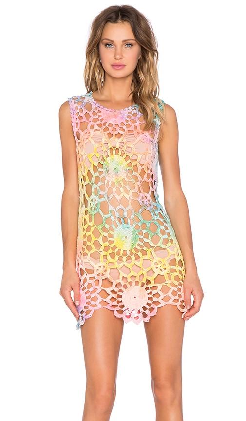 UNIF Fleur Dress in Tie Dye