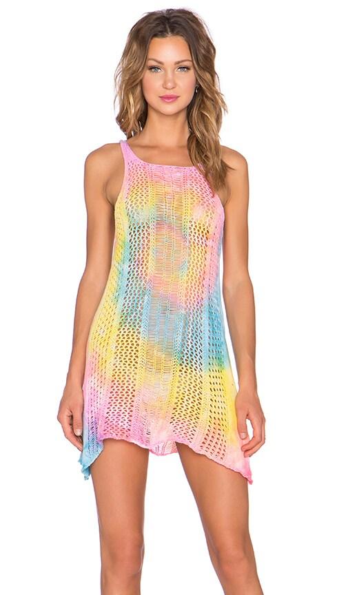UNIF Wren Dress in Tie Dye