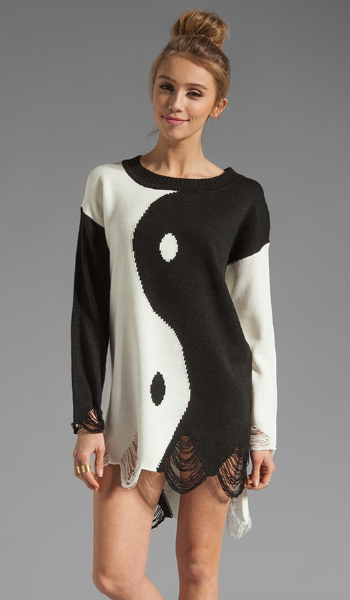 Ying Yang Sweater