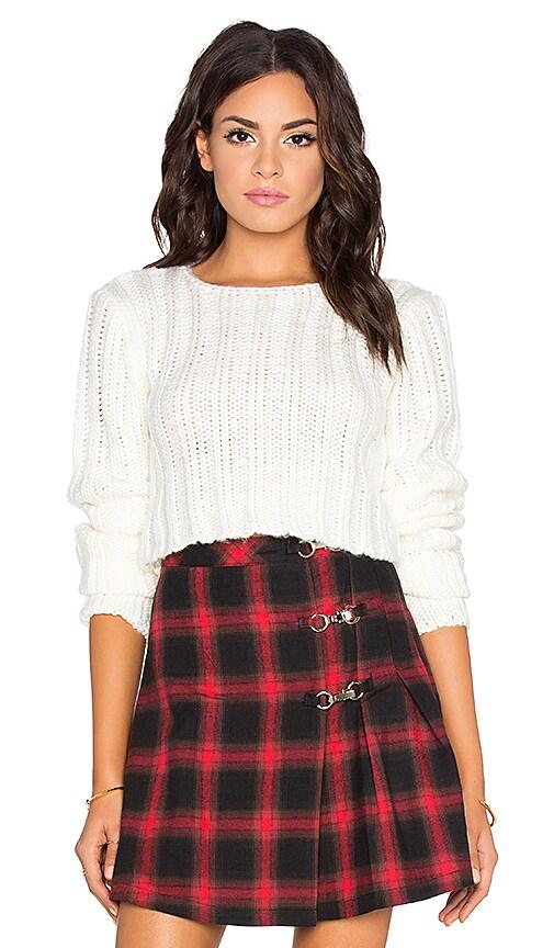 UNIF Certa Sweater in White