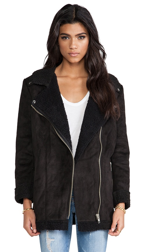 Prana Coat w/ Faux Shearling