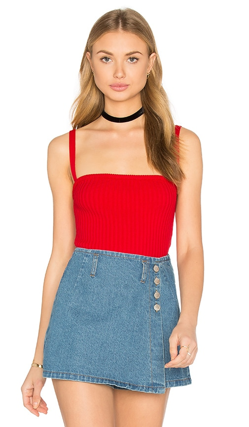 UNIF Cameron Top in Red