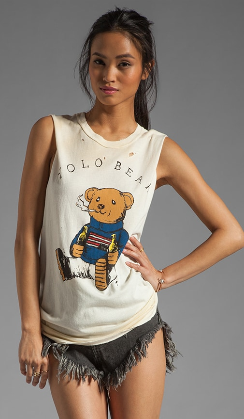 Yolo Bear Muscle Tee
