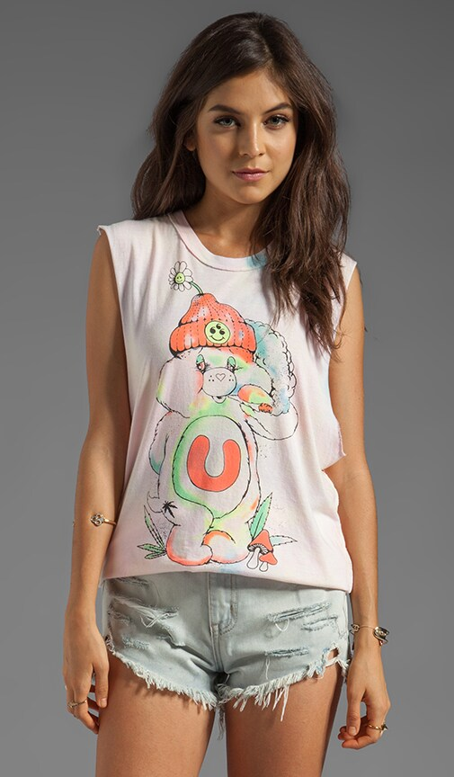 Don't Care Bear Graphic Tank