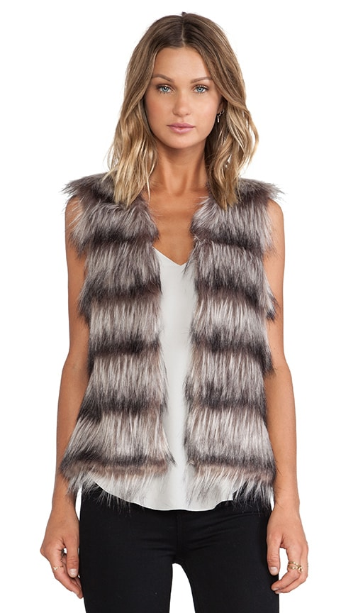 Unreal Fur The Ice Breaker Vest in Brown