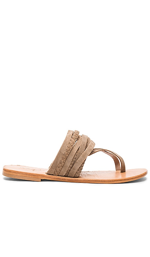 Urge Deck Sandal in Taupe