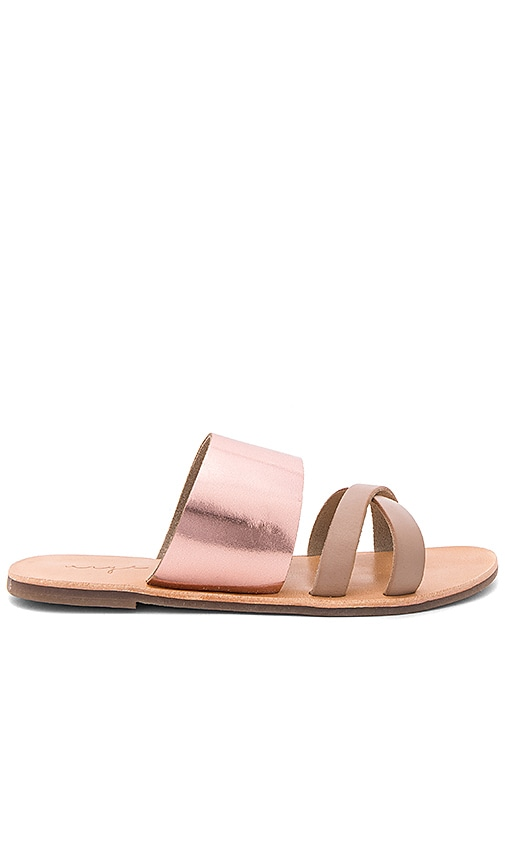 Urge Kamila Sandal in Metallic Copper