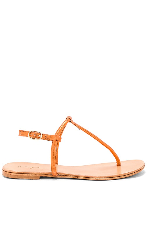Urge Mako Sandal in Orange
