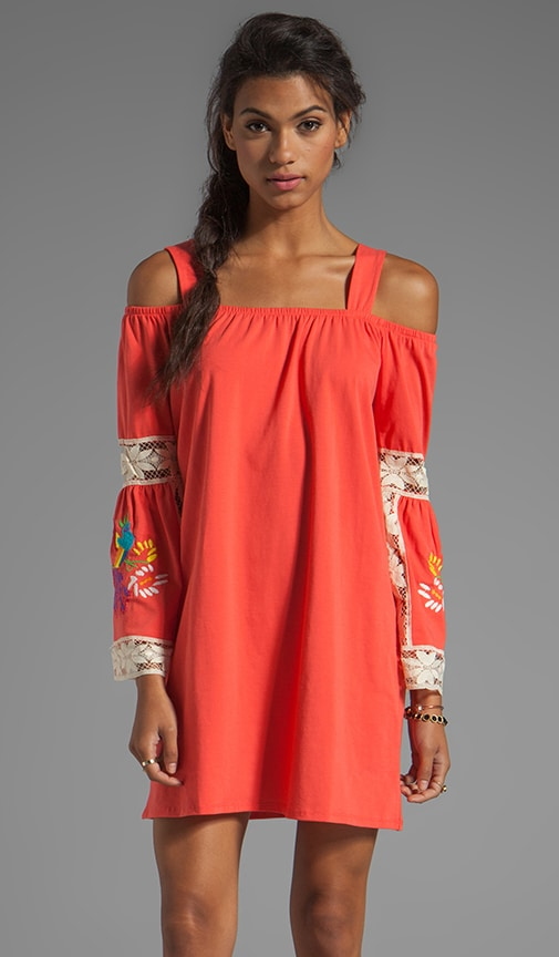 Jessi Embroidered Dress