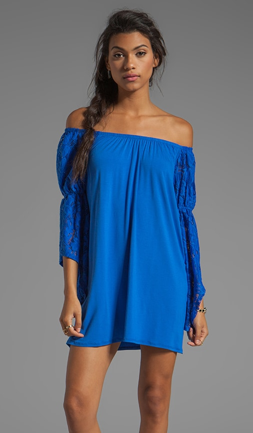 Sidney Lace Off the Shoulder Dress