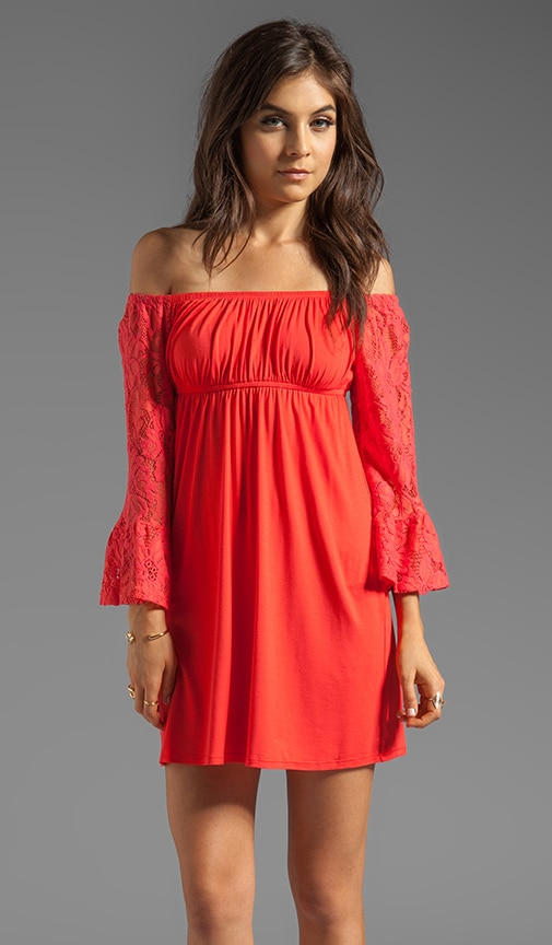 Skyler Off the Shoulder Dress