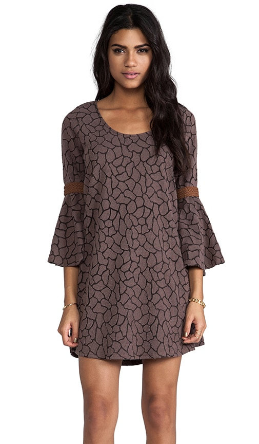 Wendy Bell Sleeve Dress