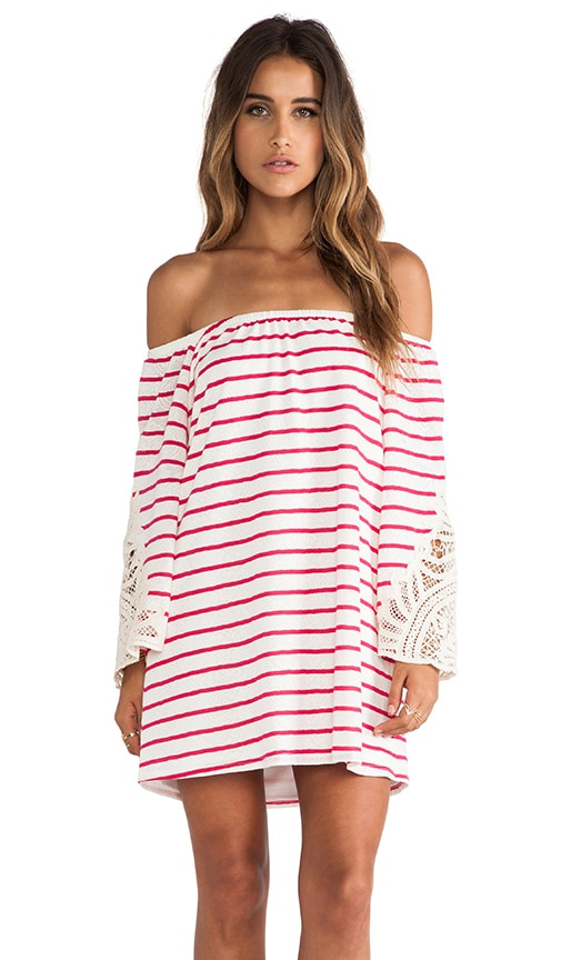 Meredith Off Shoulder Dress