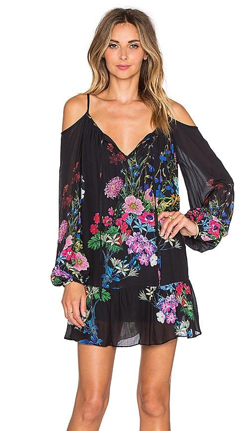 VAVA by Joy Han Maddie Open Shoulder Dress in Black