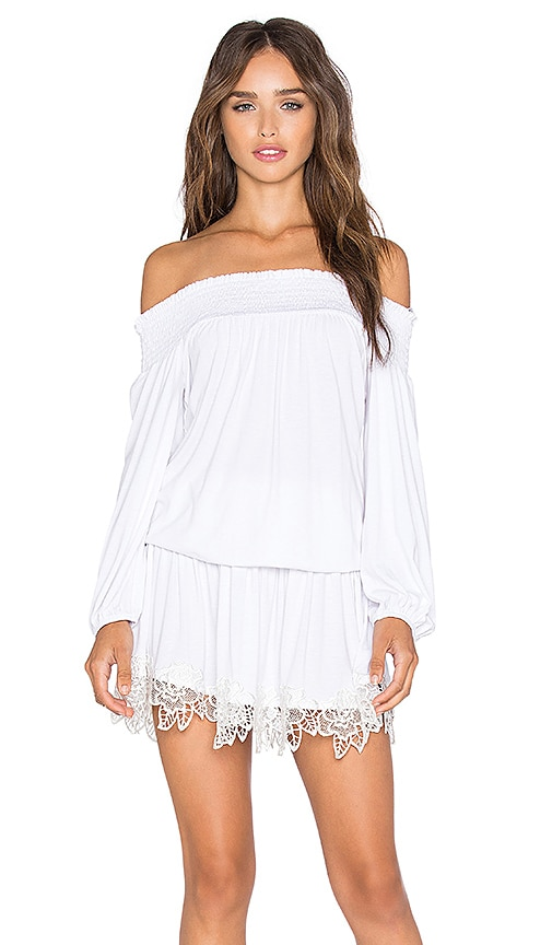 VAVA by Joy Han Shanta Off Shoulder Dress in White