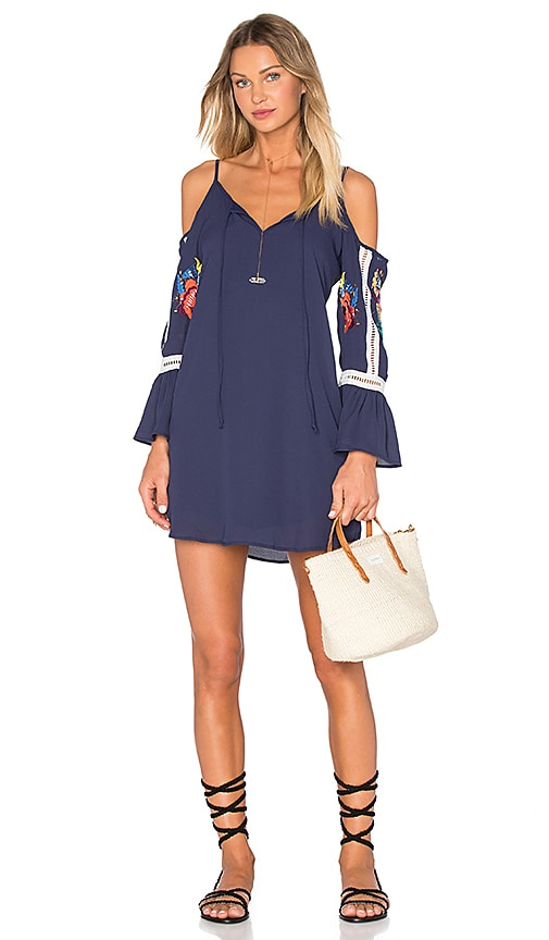 VAVA by Joy Han Ulla Dress in Navy