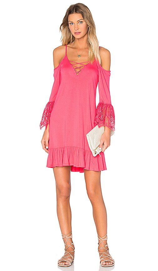 VAVA by Joy Han Julia Dress in Fuschia