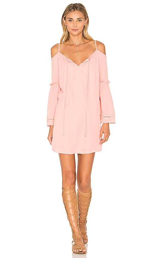 VAVA by Joy Han Jayne Dress in Peach