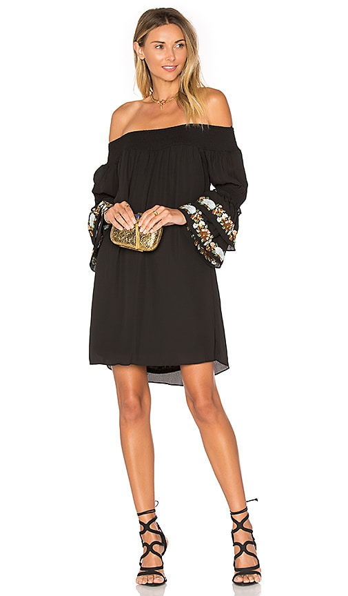VAVA by Joy Han Dina Off Shoulder Dress in Black