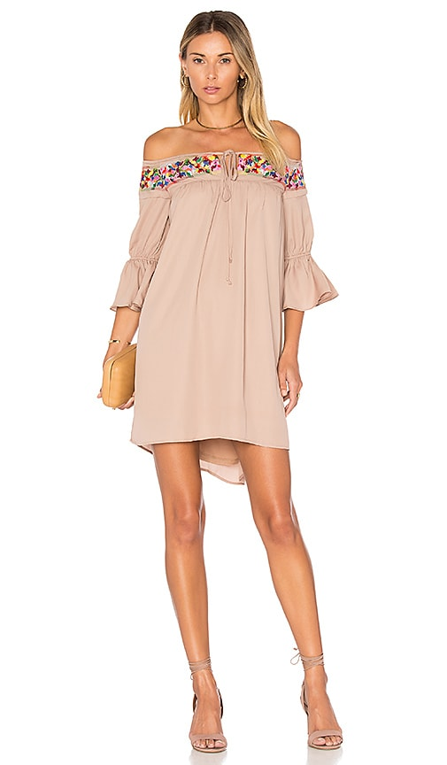 VAVA by Joy Han Britney Dress in Tan
