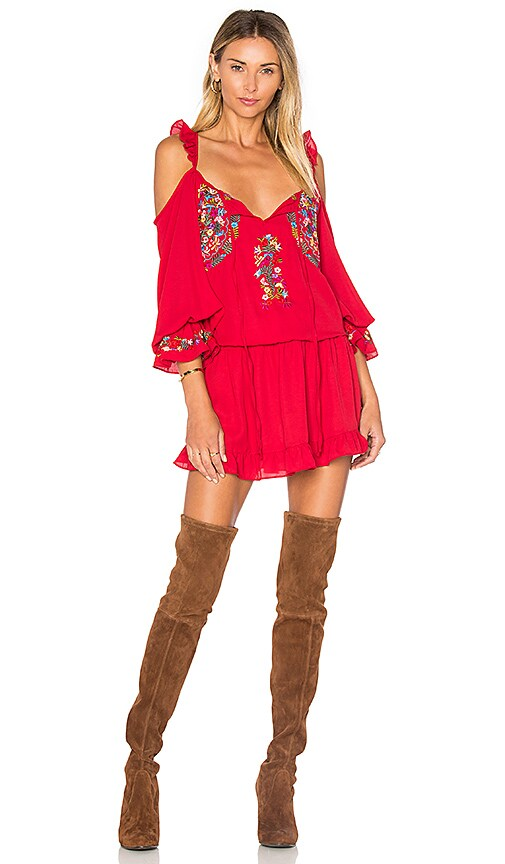 VAVA by Joy Han Dianne Dress in Red