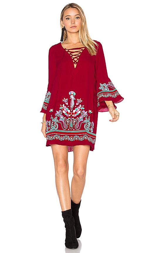 VAVA by Joy Han Kalonice Dress in Red