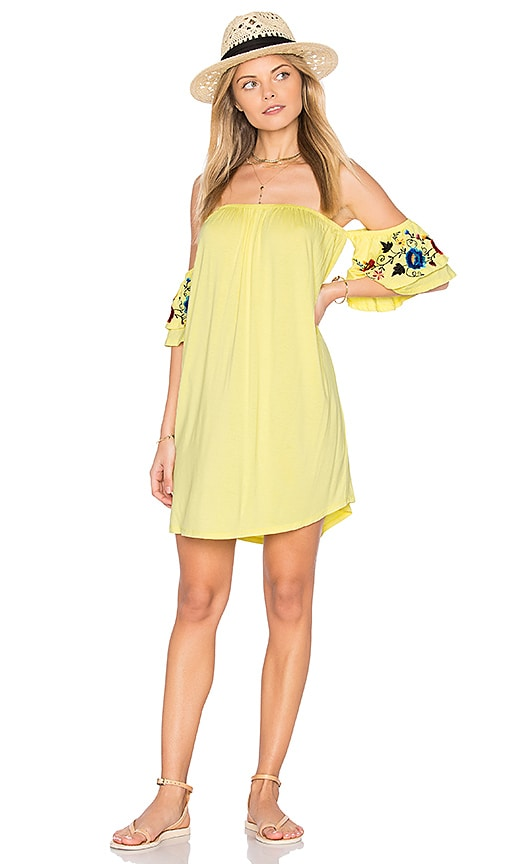 VAVA by Joy Han Sofia Dress in Yellow