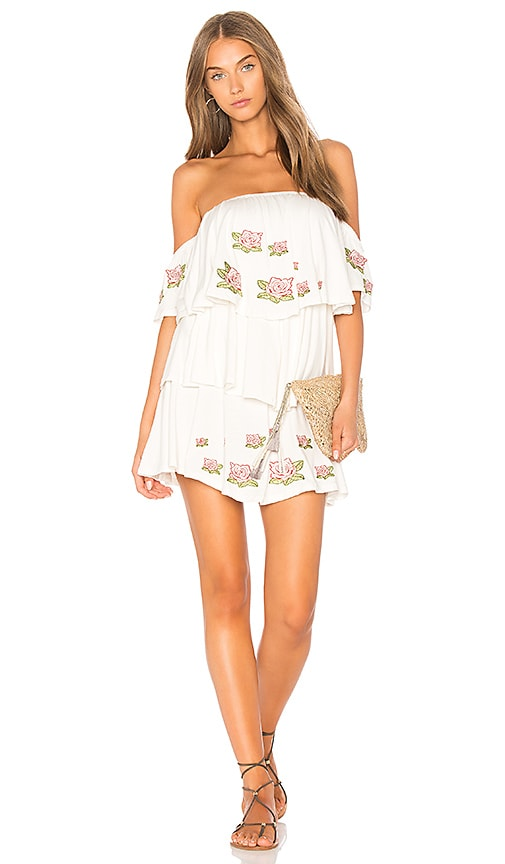 VAVA by Joy Han Roesia Dress in White
