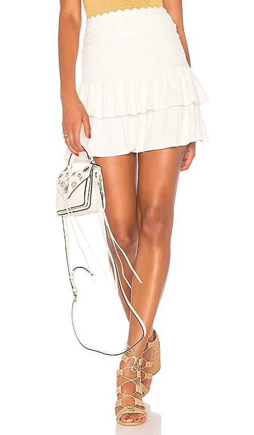 VAVA by Joy Han Marcela Mini Skirt in Ivory