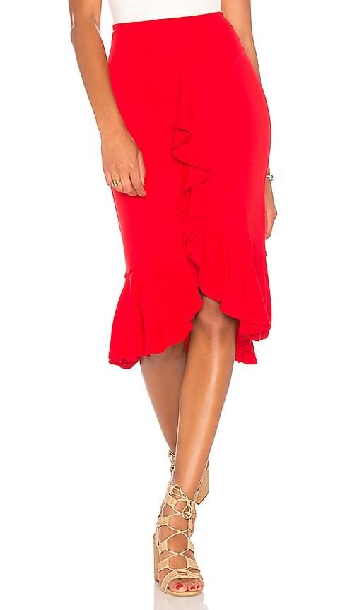 VAVA by Joy Han Romanie Skirt in Red