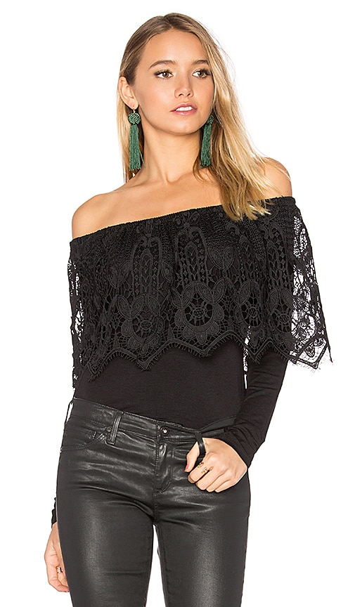 VAVA by Joy Han Paula Top in Black