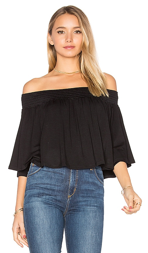 VAVA by Joy Han Jessie Top in Black