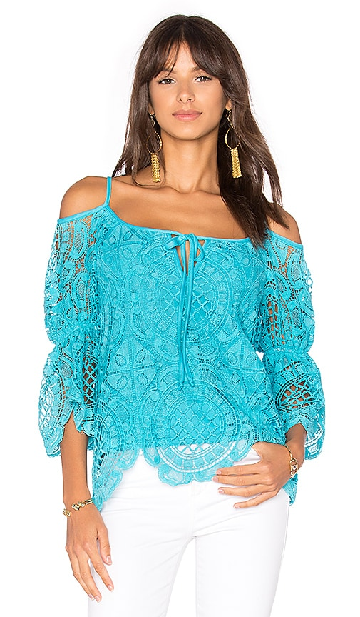 VAVA by Joy Han Laia Top in Blue