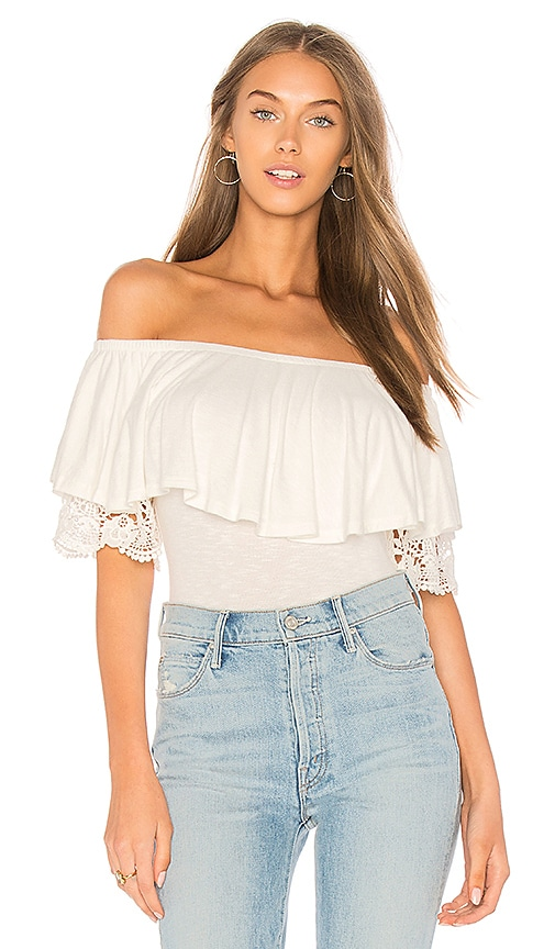 VAVA by Joy Han Heide Top in Ivory