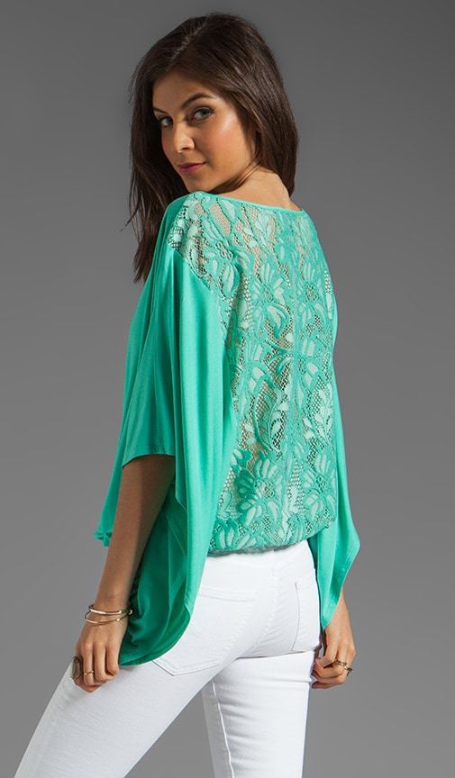 Skyler Lace Back Top