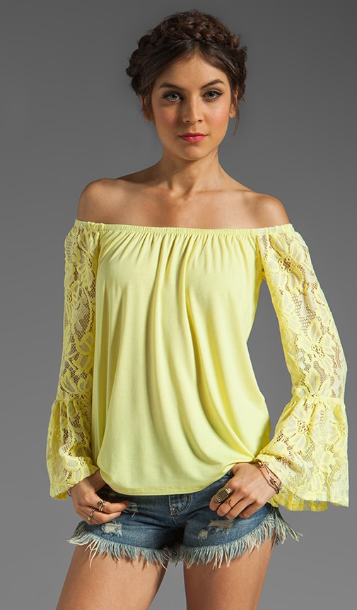 Skyler Off the Shoulder Top
