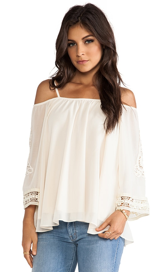 Eva Open Shoulder Top