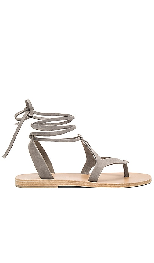 1ec8adcaf5aa Valia Gabriel Lorne Sandal in Light Grey Nubuck