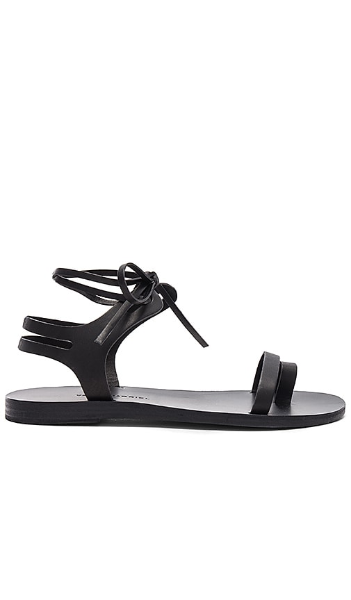 Valia Gabriel Leblon Sandal in Black